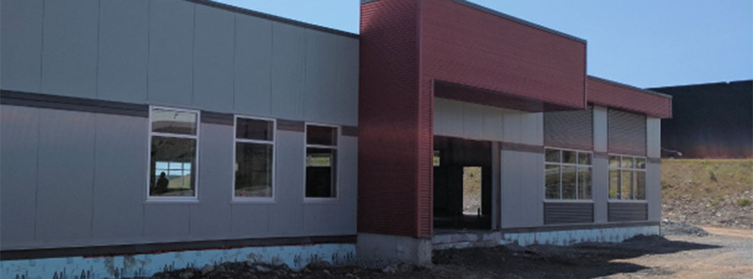 InterTalk's new headquarters is nearing completion…