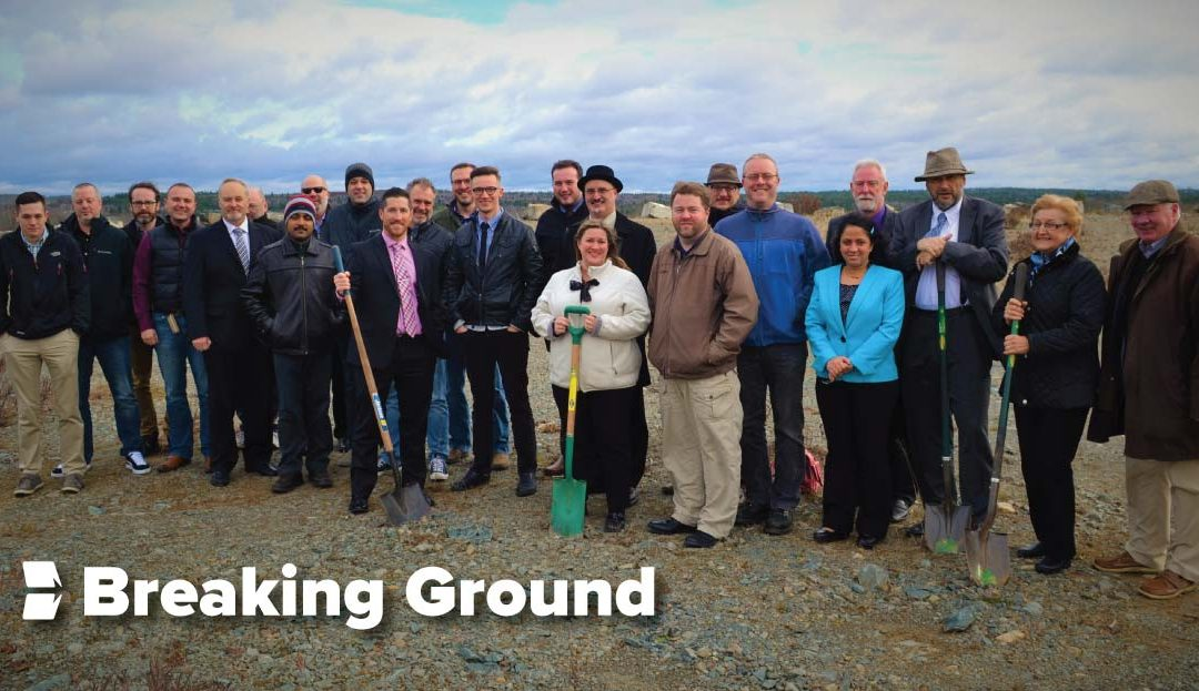 Breaking Ground on a New Headquarters