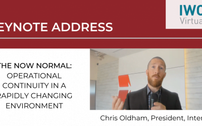 The Now Normal: Operational continuity in a rapidly changing environment – Chris Oldham