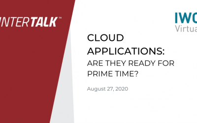 Cloud Applications: Are They Ready for Primetime? – Matthew MacDonald
